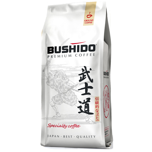 Фото Кофе Bushido Specialty Coffee зерно, пакет 227 гр.