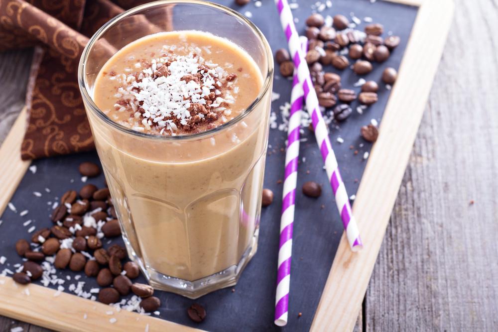Безалкогольные кофейные коктейли, вкусные коктейли с зерновым кофе